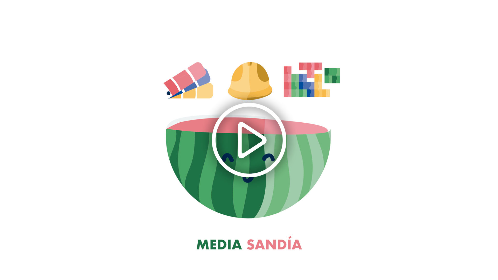 video explicación de servicio media sandía